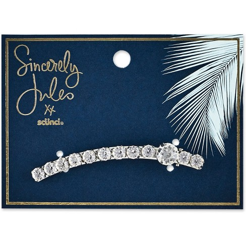 Sincerely Jules by Scnci Crystal Salon Clip  - 8cm - image 1 of 2