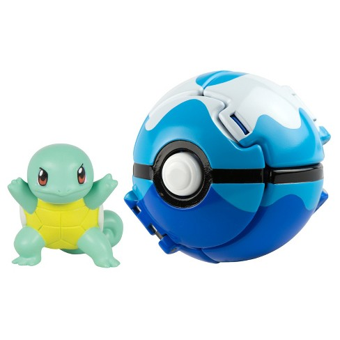 Pokmon Throw 'n' Pop Pok Ball, Squirtle and Dive Ball - image 1 of 1