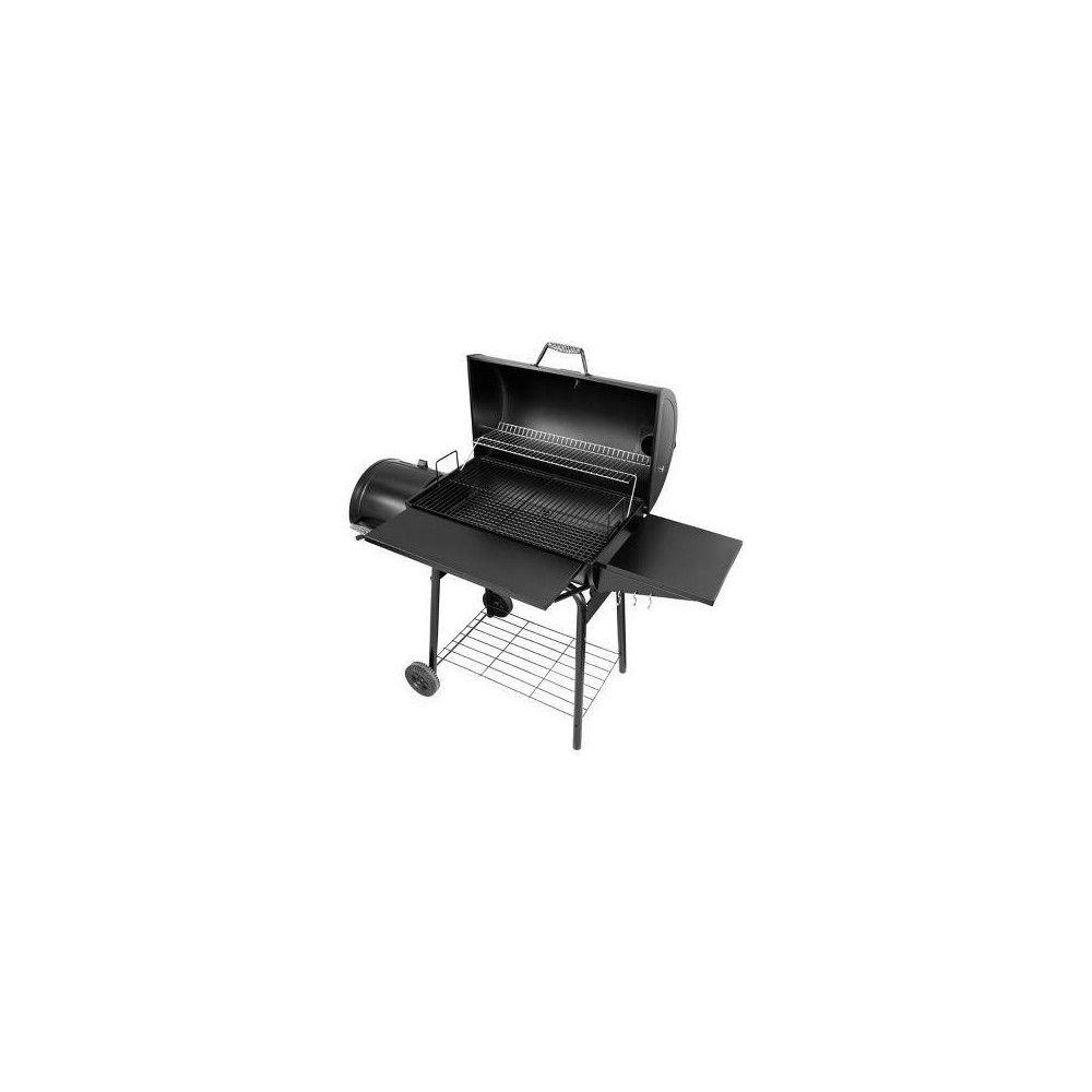 30 Charcoal Grill with Offset Smoker CC1830S Black – Royal Gourmet 54442159