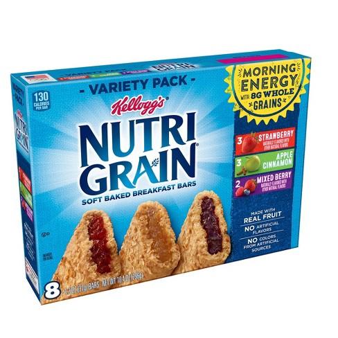 Nutri-Grain Variety Pack Snack Bars - 8ct - image 1 of 6
