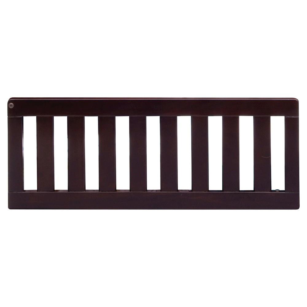 Image of Simmons Kids Slumber Time Toddler Guardrail - Madisson/Rowen - Black Espresso, Black Brown