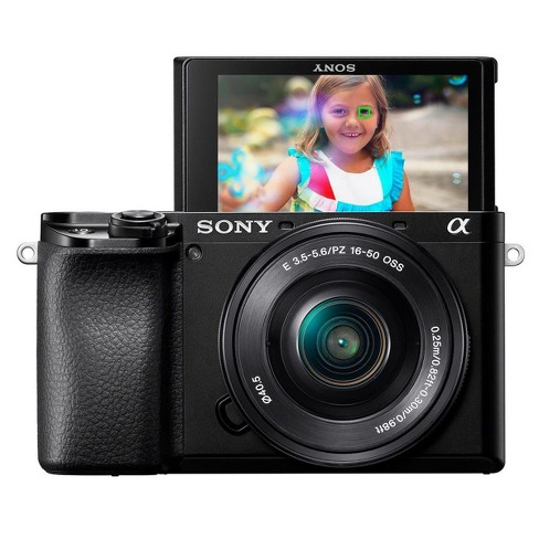 Sony Alpha a6100 Mirrorless Digital Camera with 16-50mm Lens - image 1 of 4