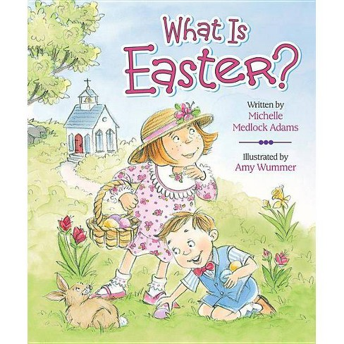 What Is Easter? (Board Book) (Michelle Medlock) - image 1 of 1