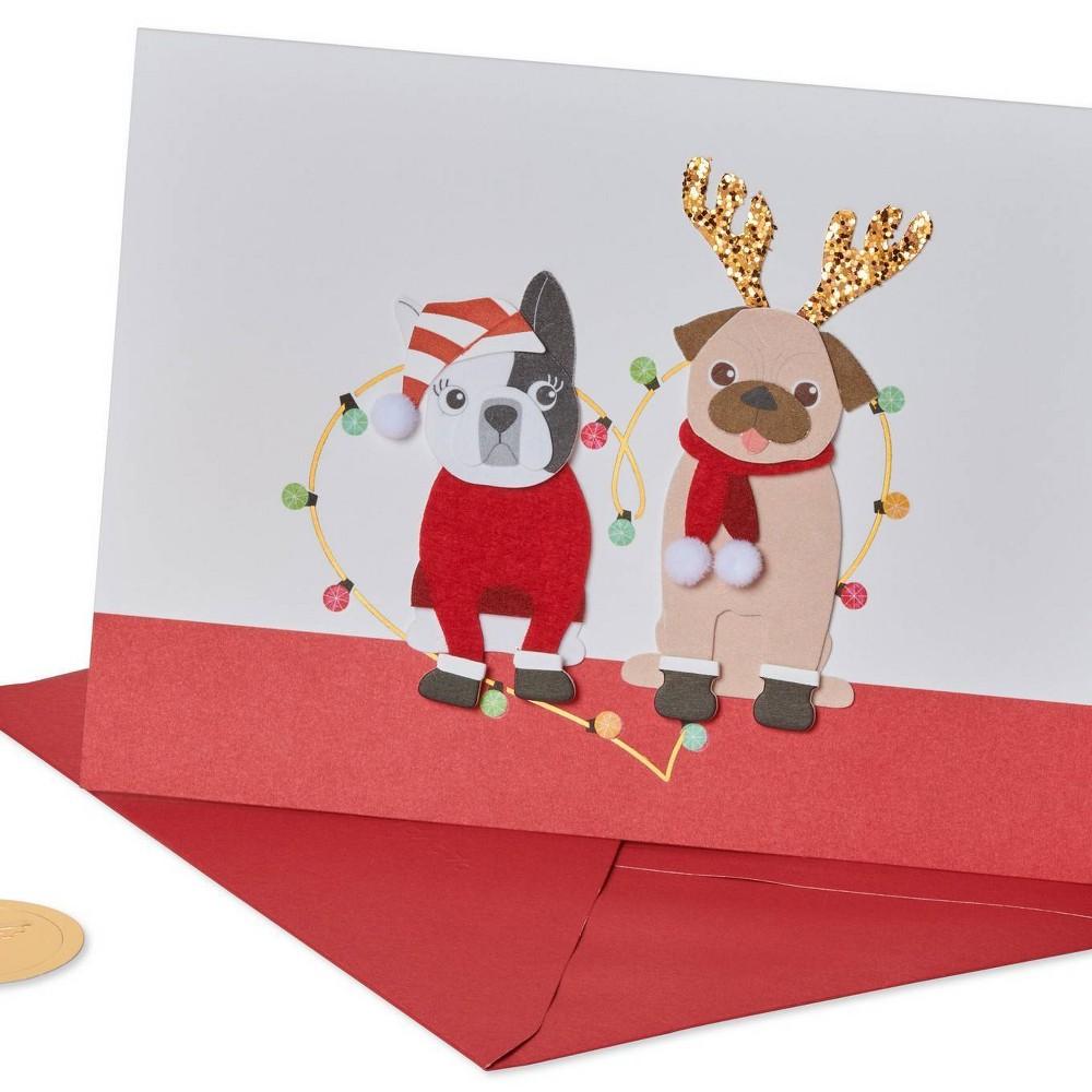 Dogs Christmas Greeting Card Papyrus