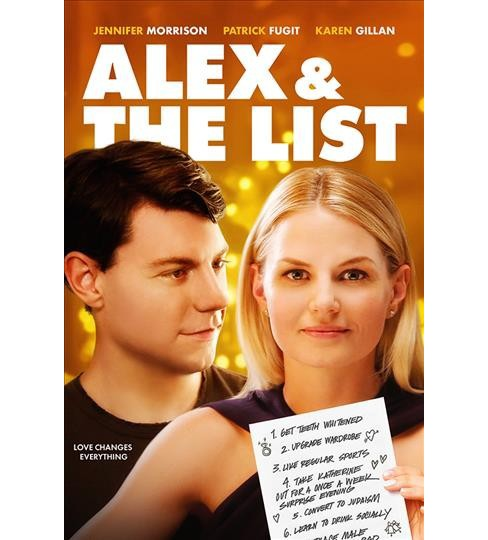 Alex & The List (DVD) - image 1 of 1