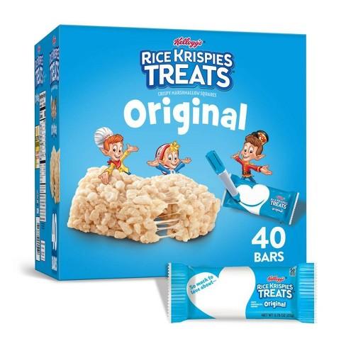 Rice Krispies The Original Treats Crispy Marshmallow Cereal Bars - 40ct - Kellogg's - image 1 of 4