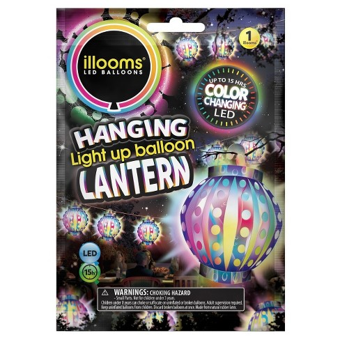 illooms® LED Light Up Color Changing Lantern Balloon - image 1 of 1