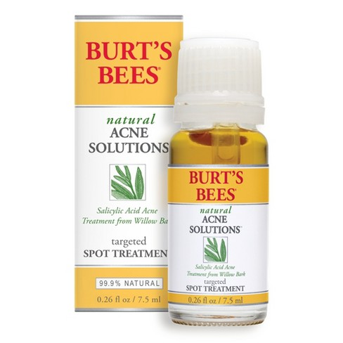 Unscented Burt's Bees Natural Acne Solutions Targeted Spot Treatment - 0.26oz - image 1 of 5