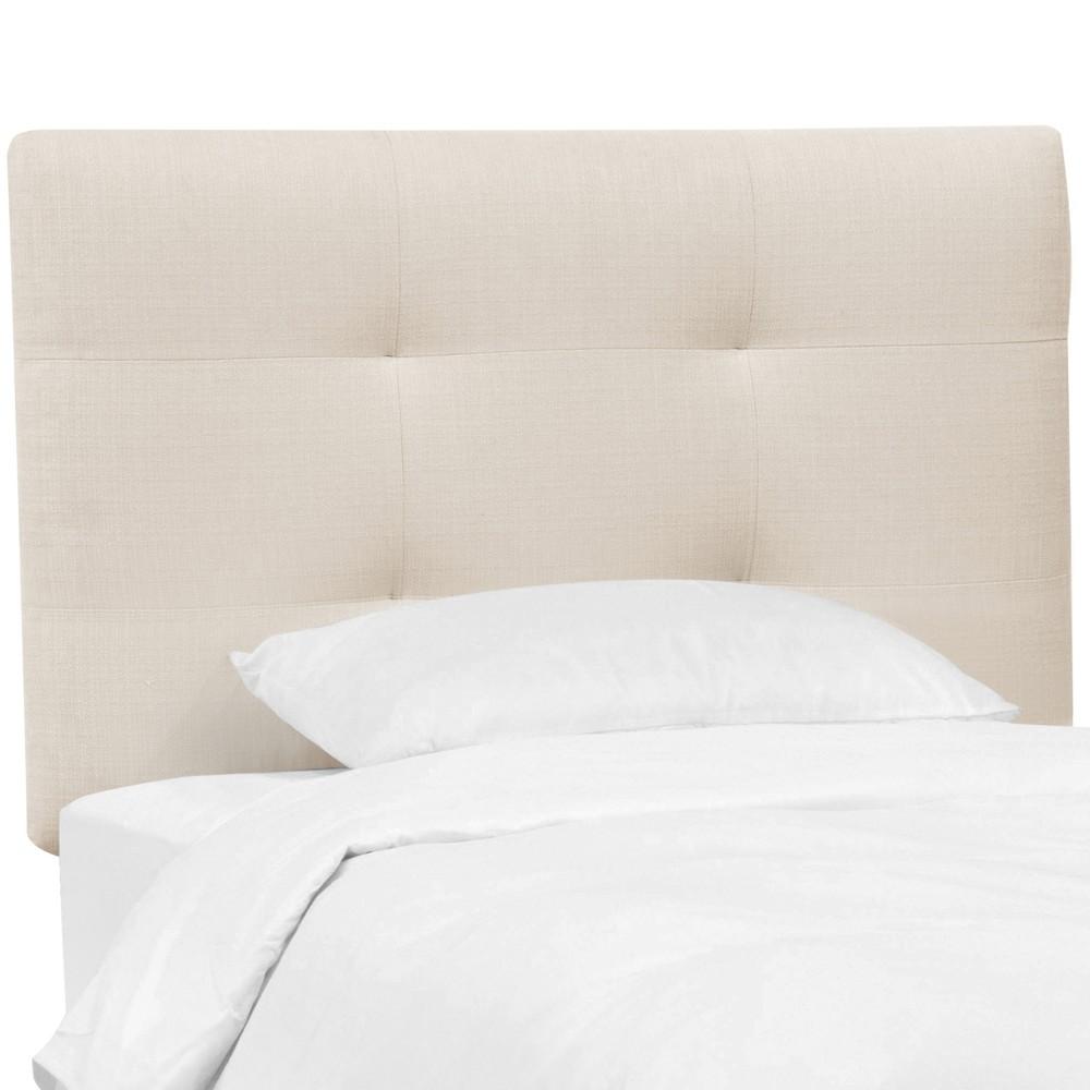 Full Sawyer Upholstered Kids Headboard Ivory - Pillowfort