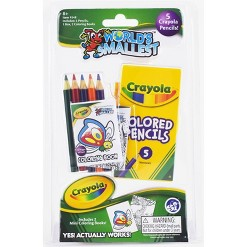 World's Smallest Crayola Coloring Book