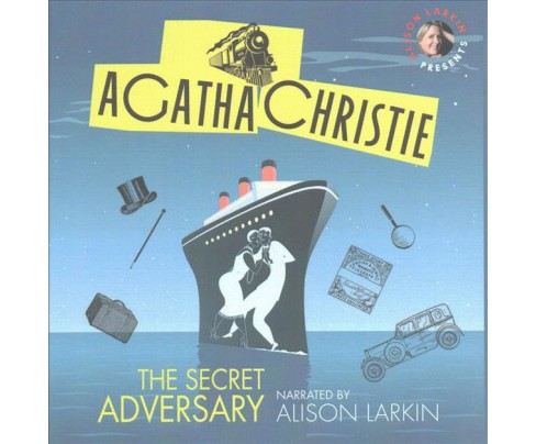 Secret Adversary (Unabridged) (CD/Spoken Word) (Agatha Christie) - image 1 of 1
