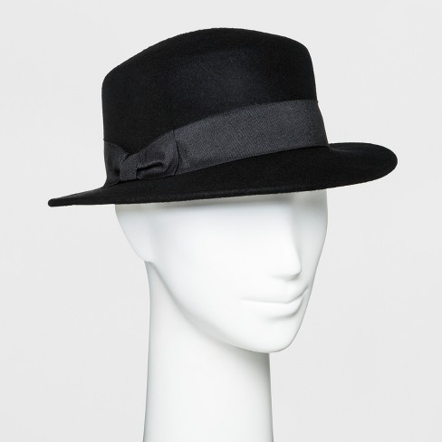 a66e43f893a2b7 Women's Boater Hat - A New Day™ Black : Target
