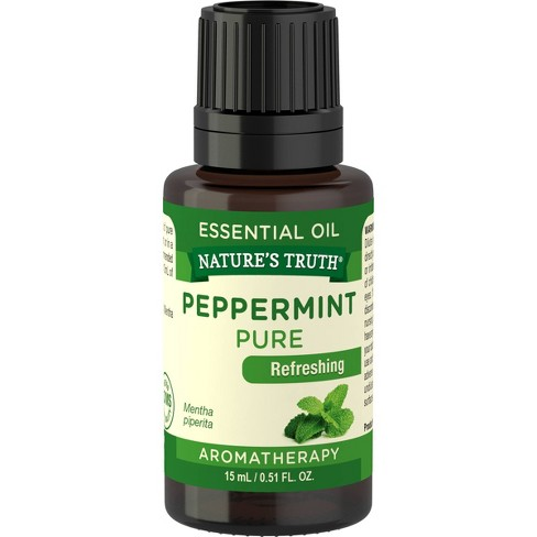 Nature's Truth Peppermint Aromatherapy Essential Oil - 0.51 fl oz - image 1 of 4