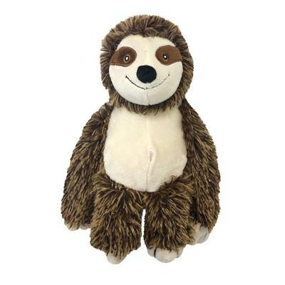 "Multipet Bark Buddies Sloth Dog Toy - 10"""