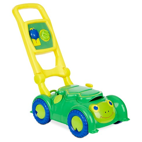 Melissa & Doug Sunny Patch Snappy Turtle Lawn Mower - Pretend Play Toy for Kids - image 1 of 3