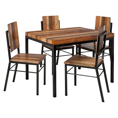 Hernwood Dining Table Brown Threshold Target