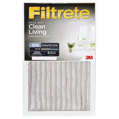 filtrete™ basic dust 14x14, air filter : target