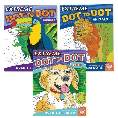 MindWare Extreme Dot To Dot: Animal Favorites Set Of 3 - Brainteasers - image 1 of 4
