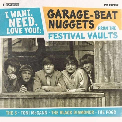 Various - I Want Need Love You:Garage Beat Nugg (CD) - image 1 of 1