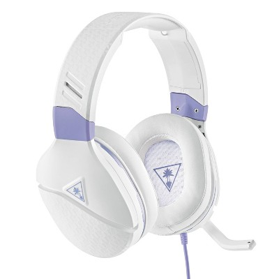 Turtle Beach Recon Spark Wired Gaming Headset for Nintendo Switch/Xbox One/Series X|S/PlayStation 4/5 - White/Purple