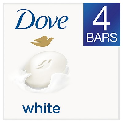 Dove White Beauty Bar - 4oz/4pk