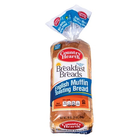 Country Hearth English Muffin Breakfast Breads 16oz Target