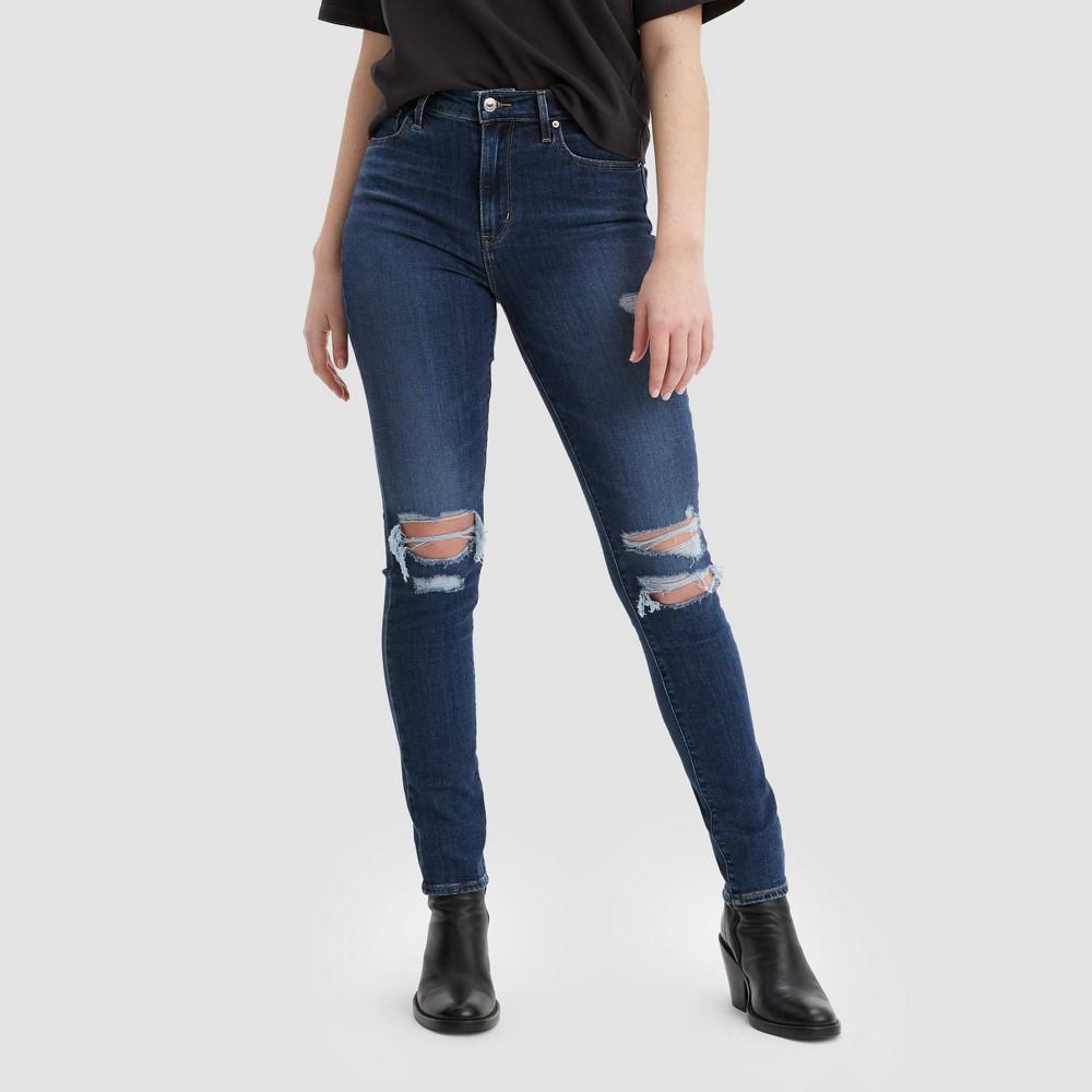 Levi 39 S 174 Women 39 S 721 8482 High Rise Skinny Jeans Manic Monday 27