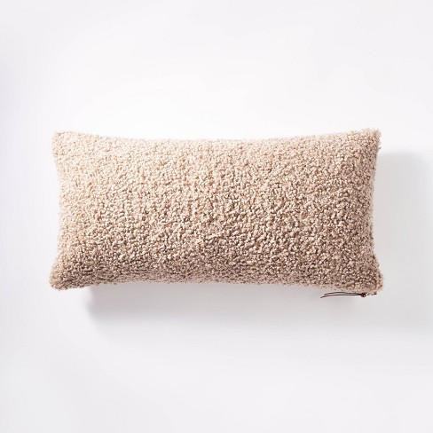 Boucle Throw Pillow with Exposed Zipper - Threshold™ designed with Studio McGee - image 1 of 4