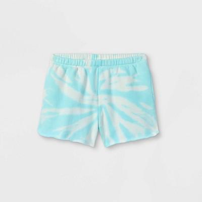 Kids' Fleece Raw Edge Lounge Shorts - art class™