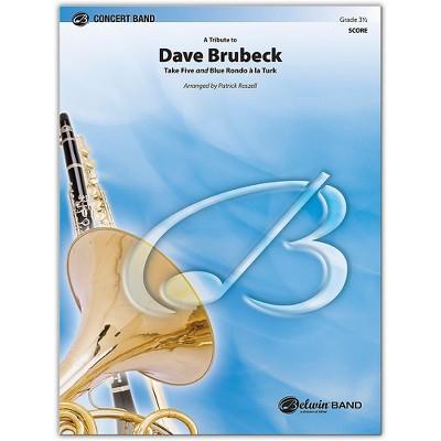 BELWIN A Tribute to Dave Brubeck Conductor Score 3.5 (Medium Easy to Medium)