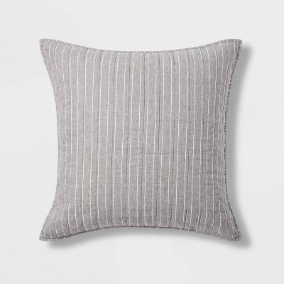 Flannel Stripe Quilt Sham - Threshold™