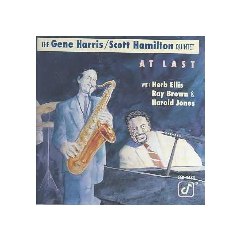 Gene Harris - At Last (CD) - image 1 of 1