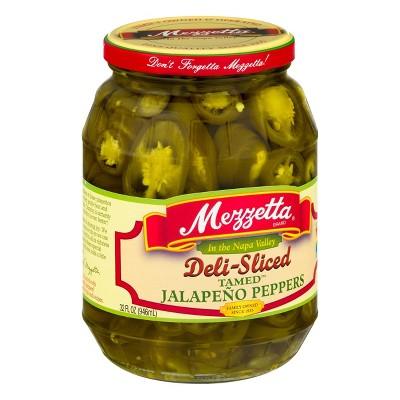 Mezzetta DeliSliced Tamed Jalapeno Peppers - 32oz