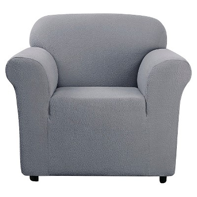 Stretch Leaf Chair Slipcover Mist - Sure Fit