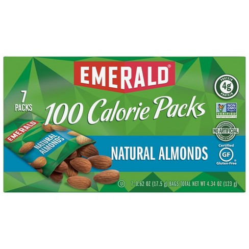 Emerald Natural Almonds 100 Calorie Packs - 4.34oz/7ct - image 1 of 4
