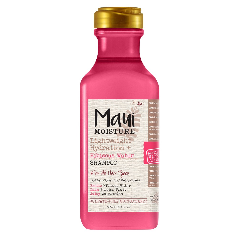 Image of Maui Moisture Lightweight Hydration + Hibiscus Water Shampoo - 13 fl oz