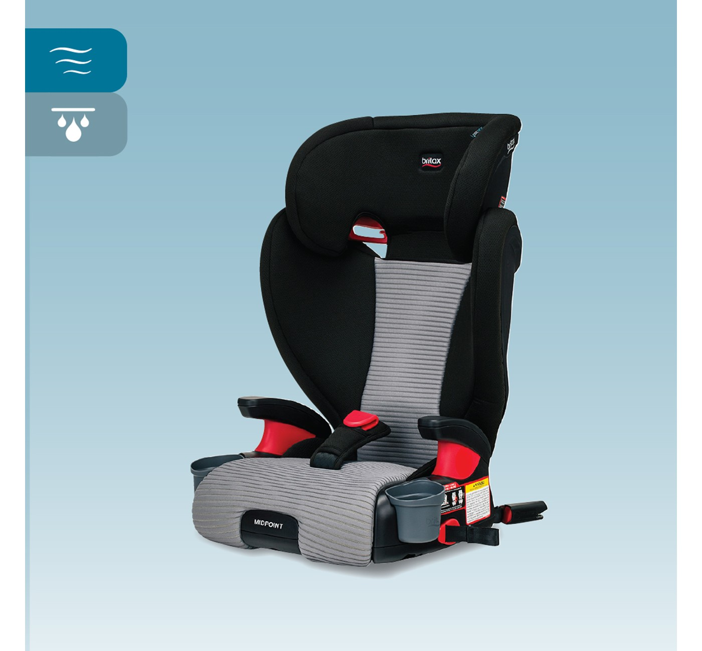 Britax Midpoint Belt-Positioning Booster Seat