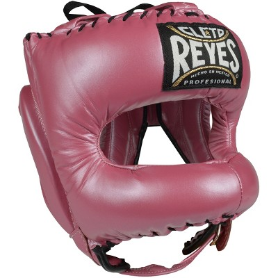 Cleto Reyes Traditional Leather Headgear with Nylon Face Bar