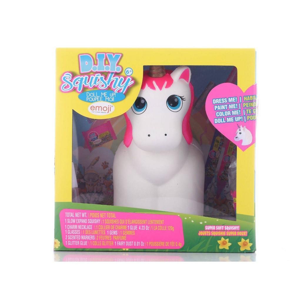Image of YoYo Lip Gloss D.I.Y. Squishy Doll Me Up! Unicorn Emoji
