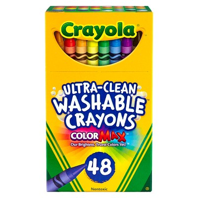 Crayola UltraClean Crayons Washable 48ct