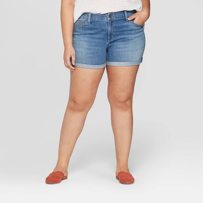 8fcda94330 Women's Plus Size Shorts : Target