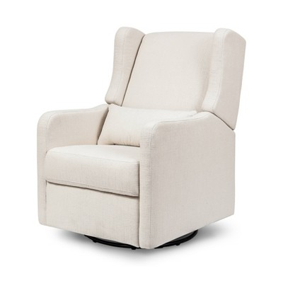 Carter's by DaVinci Arlo Recliner and Swivel Glider Performance - Cream Linen