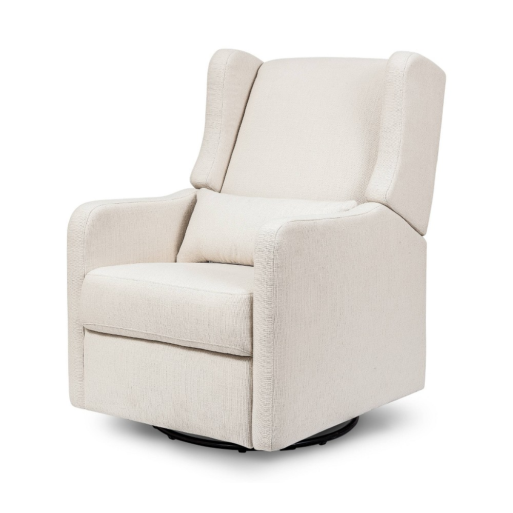 Image of Carter's by DaVinci Arlo Recliner and Swivel Glider Performance - Cream Linen