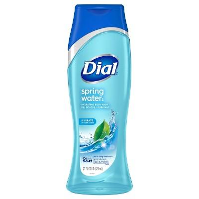 Dial Moisturizing Spring Water Hydrating Body Wash- 21 fl oz