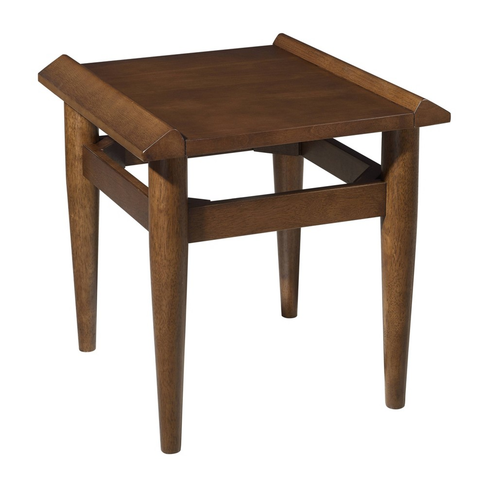 Image of Bedrick End Table Dark Tobacco - Holly & Martin, Brown