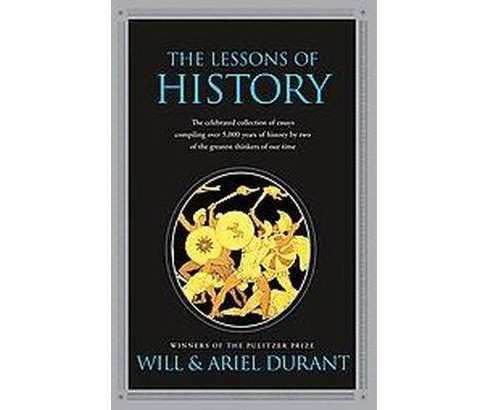 Lessons of History (Paperback) (Will Durant & Ariel Durant) - image 1 of 1