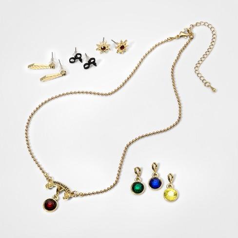 4e6e2af36 Girls' Harry Potter Hogwarts Earring And Necklace Set : Target