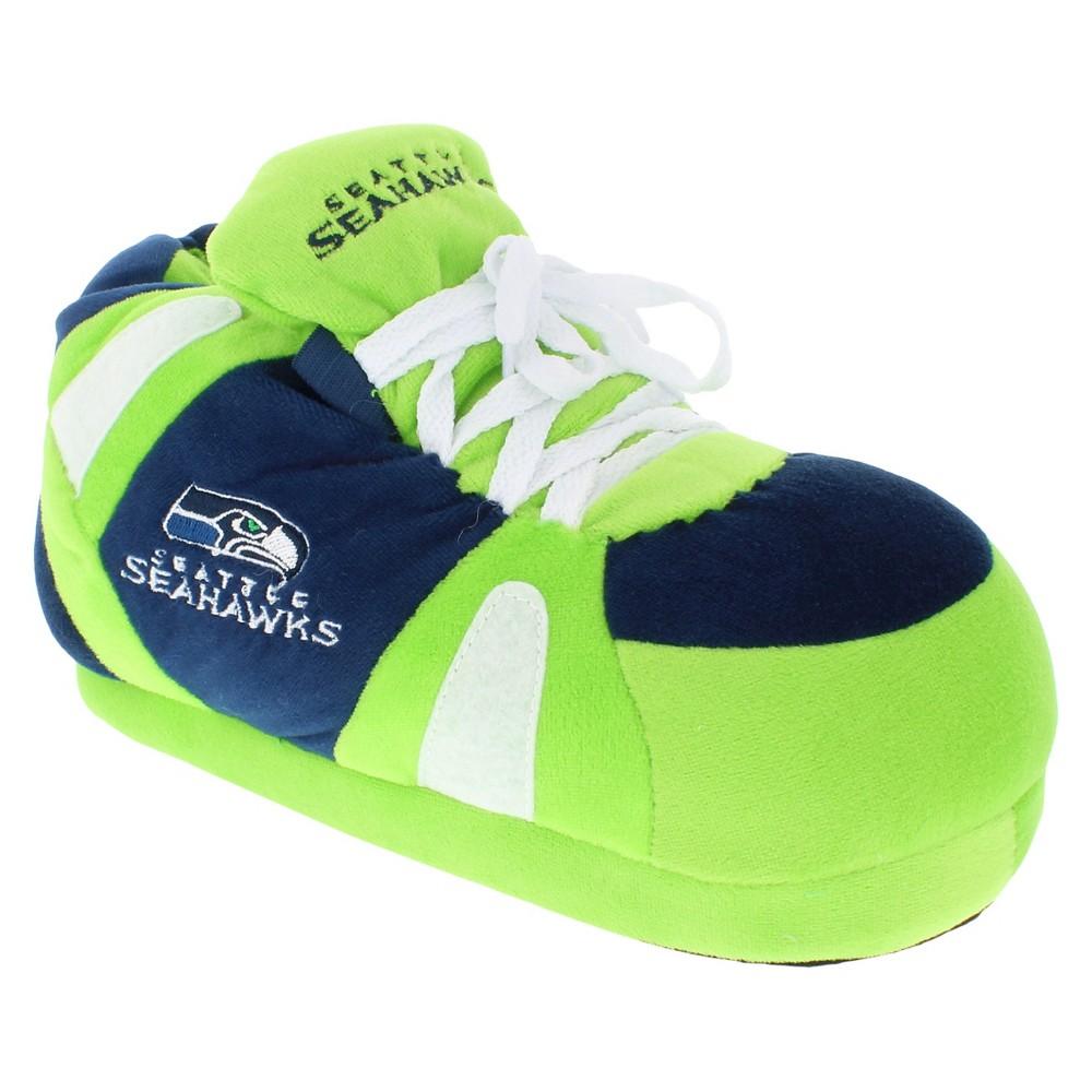 Comfy Feet NFL Seattle Seahawks Slipper SM, Kids Unisex, Size: Small, Multicolored
