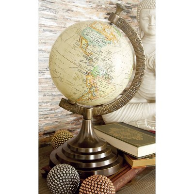 "15"" x 8"" Traditional Geographical Globe - Olivia & May"