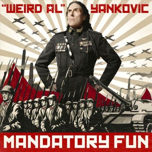 """Weird Al"" Yankovic - Mandatory Fun (CD) - image 1 of 1"